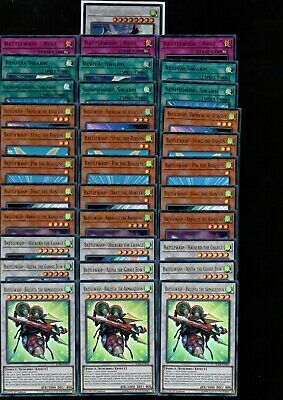 34 Card Battlewasp Deck Core All Holo - New Archetype BLHR 1st Ed NEW