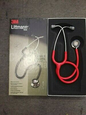 3M Littmann Classic II Paediatric Stethoscopes: Red
