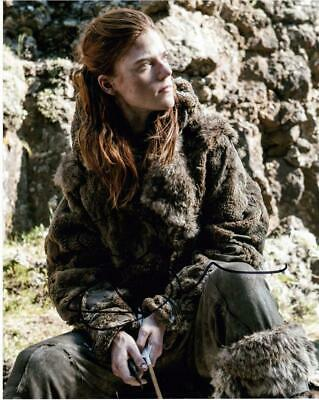 """Rose Leslie - Colour 10""""x 8"""" Signed 'Game of Thrones' Photo - UACC RD223"""