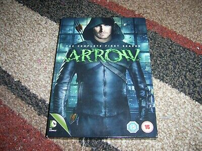 Arrow - Series 1 - Complete (DVD, 2013, 4-Disc Set, Box Set)