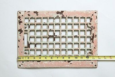 antique heating grate register grill | tuttle & bailey victorian iron vtg deco