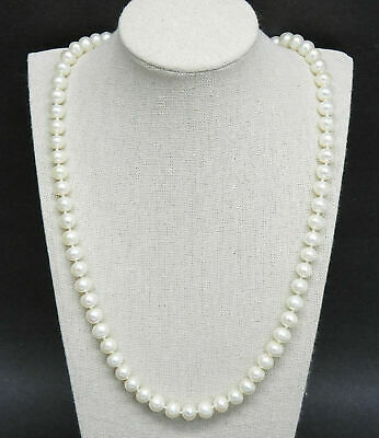 cd4cd5a5e3b42 WOW! 14K CLASP & Bead Genuine Pearl 3 Strand Faceted Black Onyx ...
