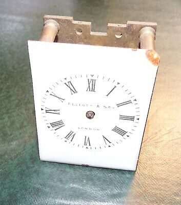 Miniature Carriage Clock Movement 6.0 x 4.2 x 2.5 cms. Missing couple of parts
