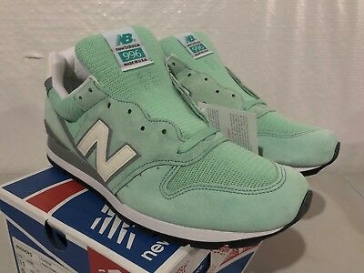 NIB NEW BALANCE MENS M996CPS MINT GREEN MADE IN USA PREMIUM