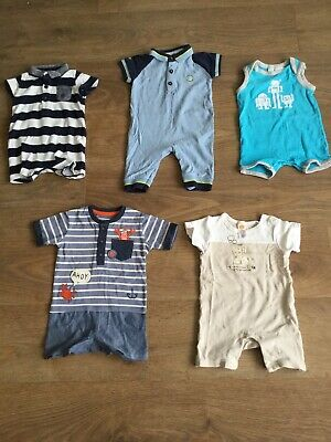 Bundle Baby Boys Summer Rompers 3-6 Months A15 next ted baker