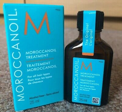 MOROCCAN OIL Treatment 25ml For all Hair Types Travel Size NEW Worth £13.45