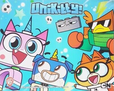 2017 UNIKITTY! LEGO SERIES Cartoon Network POSTER + SDCC bonus