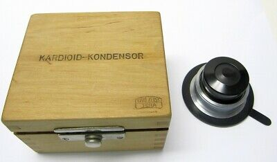 Cased Zeiss Cardioid Microscope Condenser in mint condition
