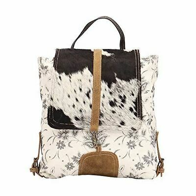 783a068a20d0 NWT MYRA BAG Backpack Cafe & Legumes Up-cycled Vintage theme ...