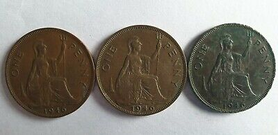 One Penny 1946. George VI.