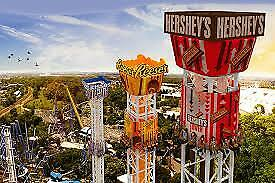 HERSHEYPARK ONE DAY ADMISSION TICKET valid through July 31 - SUPER DISCOUNT!!