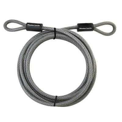 Master Lock 180-in 5ft Gray Steel Combination Cable Lock Bike Bicycle Security