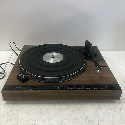 Vintage REALISTIC LAB 440 Automatic Record Player Turntable-Works NO TOP COVER