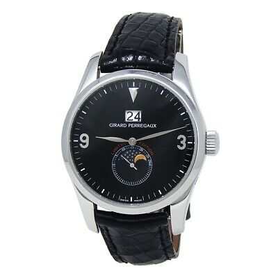 Girard Perregaux Classic Elegance Stainless Steel Automatic Men's Watch 4953