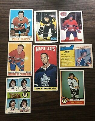Amazing 1970-80'S Superstar Opc + Lot!! Gretzky,Orr,Esposito,Hortons Tallboy Wow