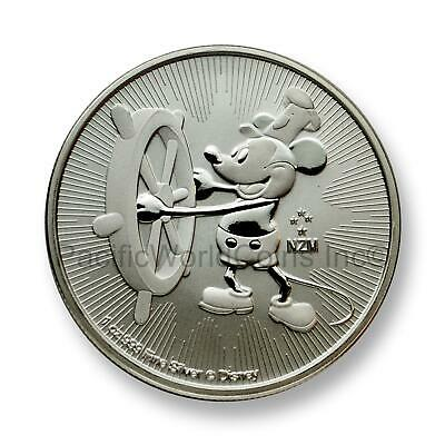 Niue 2017 Disney Characters Mickey Mouse $2 1 oz Silver  SKU#7402