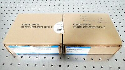 R160862 Two Boxes Agilent G2505-60525 Slide Holder For G2565 Series DNA Scanner