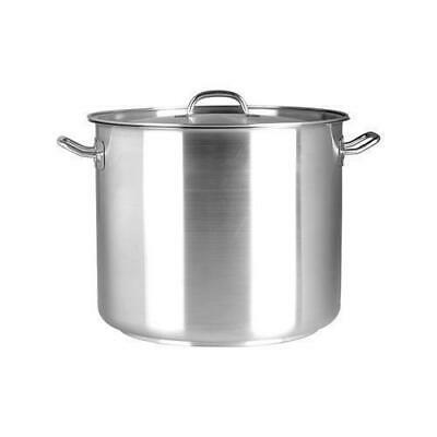 Stockpot with Cover / Lid 10.75L Stainless Steel Chef Inox Stock Pot