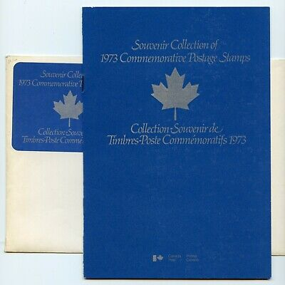 Weeda Canada VF 1973 Annual Collection #16 in original envelope CV $12.50+