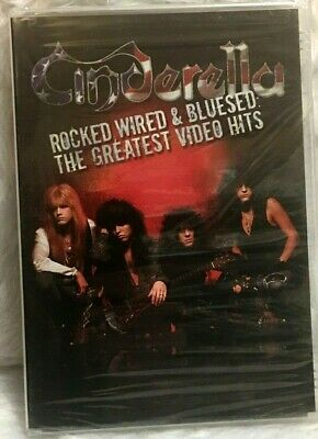 DVD Cinderella - Rocked, Wired & Bluesed - Greatest Video Hits R 0 New Sealed