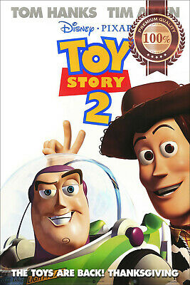 New Toy Story 2 Two Official Original Cinema Film Movie Print Premium Poster
