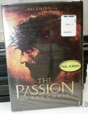 The Passion of the Christ Digitally Mastered Wide Screen New Free Shipping