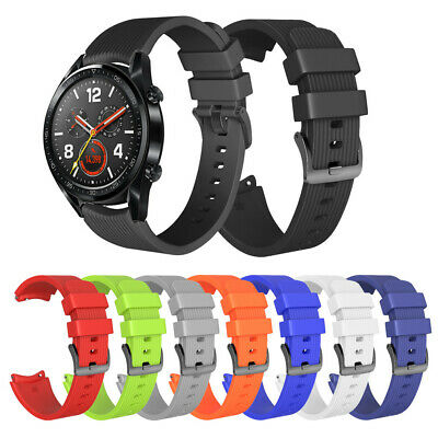 Fashion Silicone Watch Bands Straps Replacement Wrists Strap For Huawei Watch GT