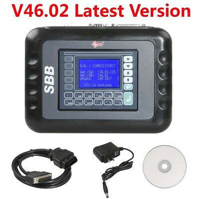 Latest Version SBB  Programmer V46.02  Multi-language  Auto Car OBD Scan Tool