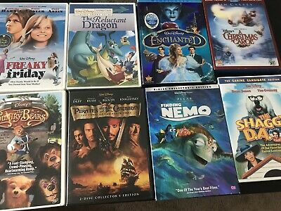 Huge Lot Disney Movies DVD