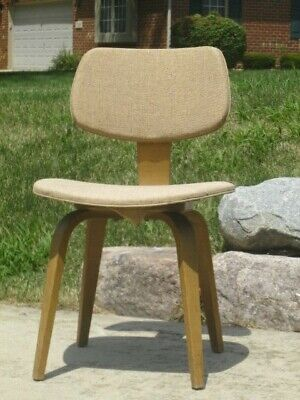 Vintage  Mid Century Modern THONET Bentwood DINING Replacement Side Chair