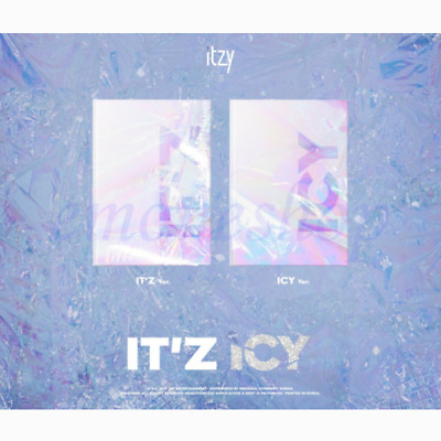 KPOP ITZY ALBUM Package [ IT'z ICY ] Version Random + Benefits + Tracking No.