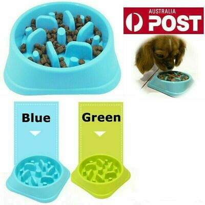 Fun Feeder Dog Bowl Slow Feeder Stop Bloat for Pet Interactive Feeder AU STOCK