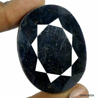 460 Ct Natural Blue Sapphire From Madagascar Huge Oval Faceted Earth mined Gem