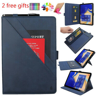 For Samsung Galaxy Tab S4 10.5 T830 T835 Folio Smart PU Leather Cover Case Stand