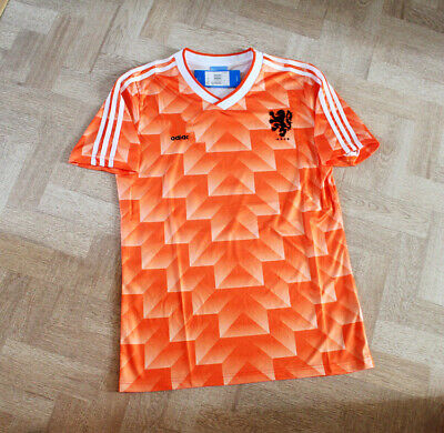 Netherlands Home Retro  Orange  Shirt Jersey Vintage Classic Holland