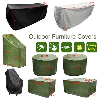8 Size Waterproof Outdoor Patio Garden Furniture Rain Snow Cover for Table Chair