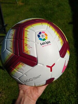 9185363bf Nike Merlin La Liga Official Match Ball OMB 2018-19