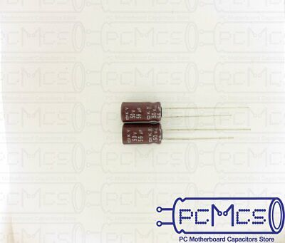 30 Pcs of NCC KY Series 16V 220UF Minimize ESR Japan Make Capacitor 6.3x11