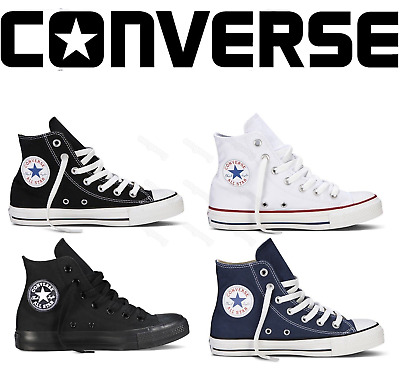 Converse Unisex Chuck Taylor Classic All Star OX Hi High Tops Canvas Trainers