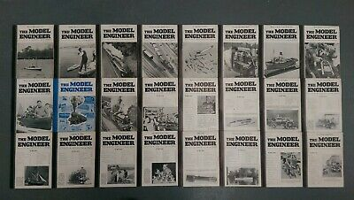 Model Engineer: 24 volumes Jul 1939 to Dec 1939 including special 2000th edition