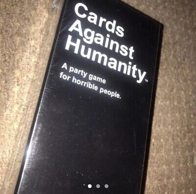Cards Against Humanity Uk Starter Pack - Brand New And Sealed
