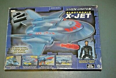 X-Men United Electronic X-Jet Wolverine action Figure Plane X2