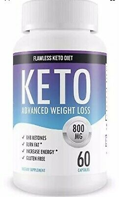 Private brand purefit KETO DIET CAPSULES 60 Caps 800mg Advance Weight Loss