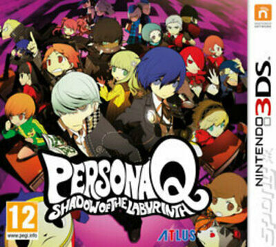 Persona Q: Shadow of the Labyrinth (3DS) PEGI 12+ Adventure: Role Playing