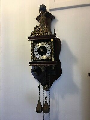 German Badische uhrenfabrik wall clock beautiful