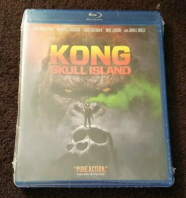 Kong: Skull Island - NEW UNOPENED Blu-ray DVD; Extra Features; 2017; King