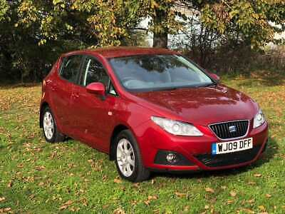 Seat Ibiza Red 1.4 Petrol 5 doors Automatic 2009 Petrol for Sale