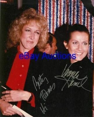 VERONICA HAMEL and BETTY THOMAS Autographed Photo