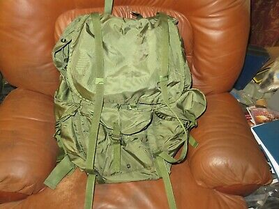 US Military Army Combat Field Pack Large LC-1 Rucksack With Metal Frame
