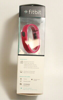 PRE OWNED Fitbit Flex Wireless Activity Tracker Pink Small and Large Wristband